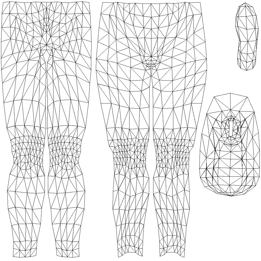 Avatar Databank Lower Body Data