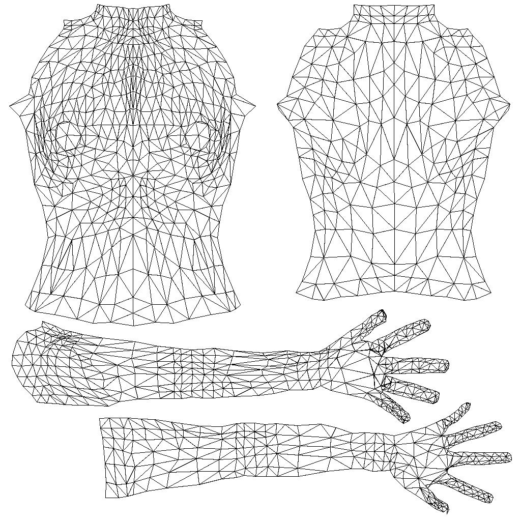 Avatar Databank Upper Body Data